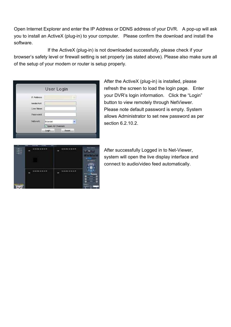 Night Owl 4BL-DVR-1TB User Manual | Page 46 / 54