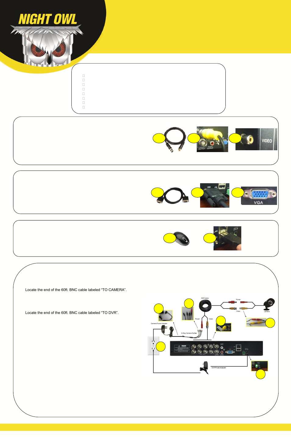 Owl cm130 user manual.