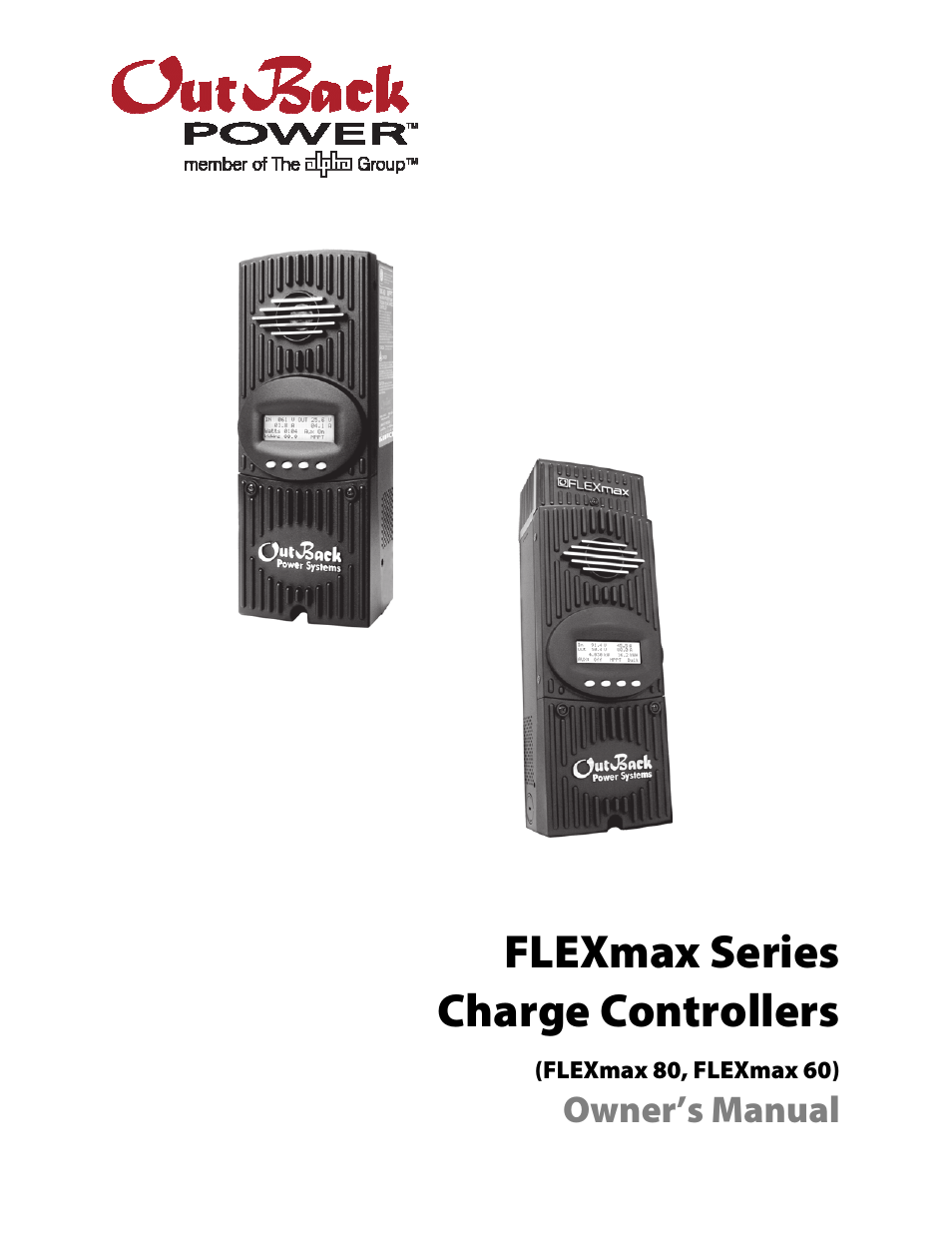 Outback charge controller manual