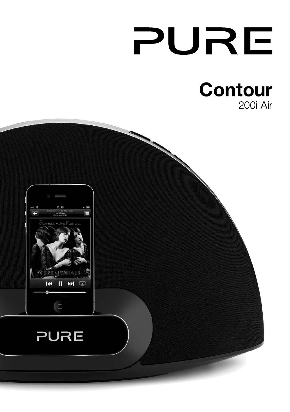 pure contour 200i air user manual 28 pages rh manualsdir com Pure Contour Drawing Shoes Pure Dual Contour Pillow