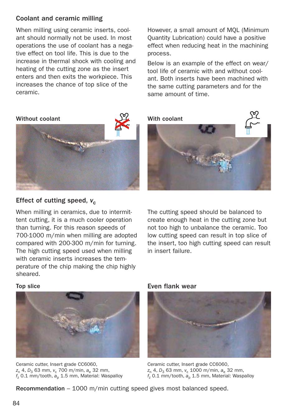 Even flank wear | Sandvik Coromant Heat resistant super alloys User Manual  | Page 86 /