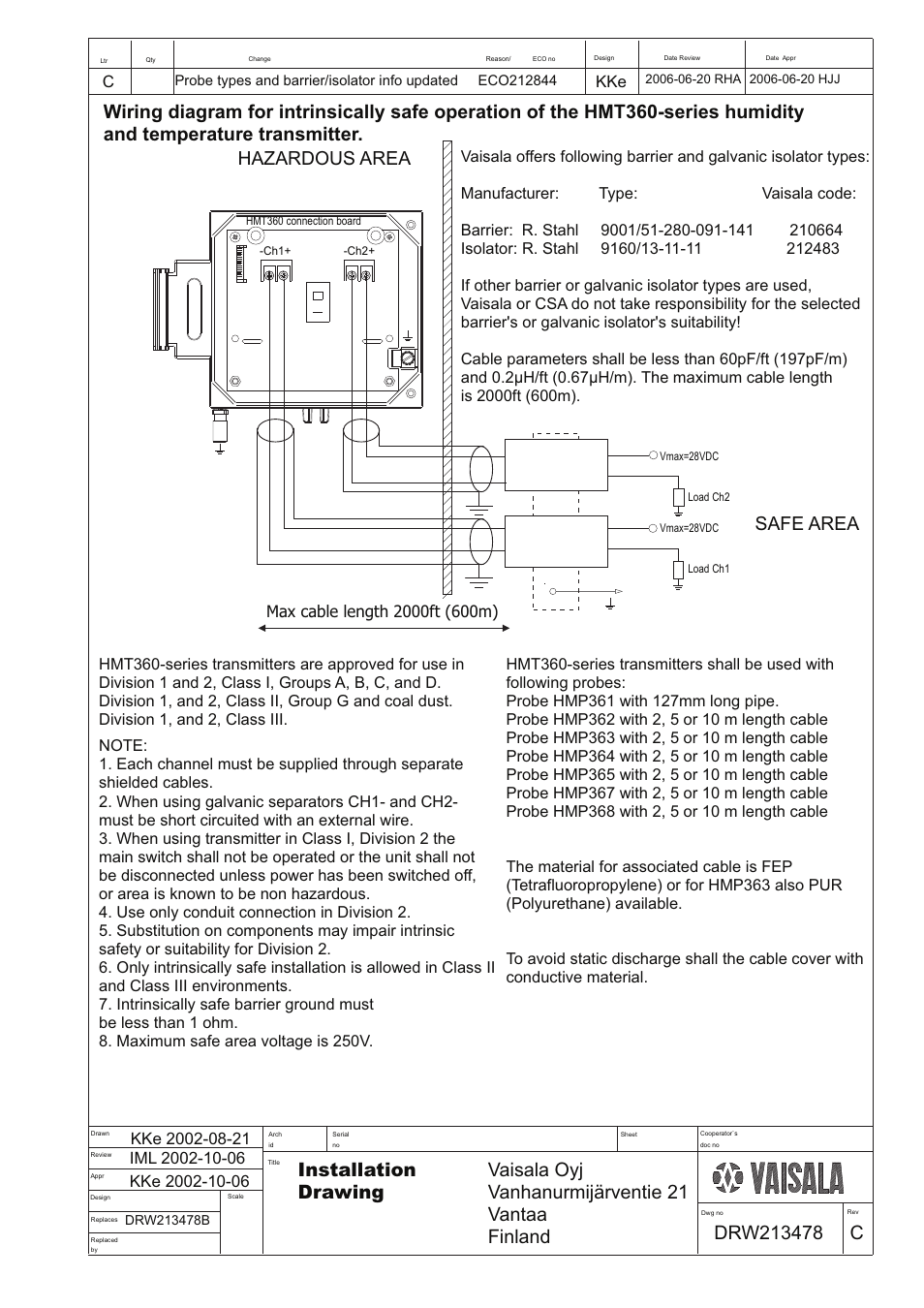 Drw213478 | Vaisala HMT360 User Manual | Page 57 / 63 on