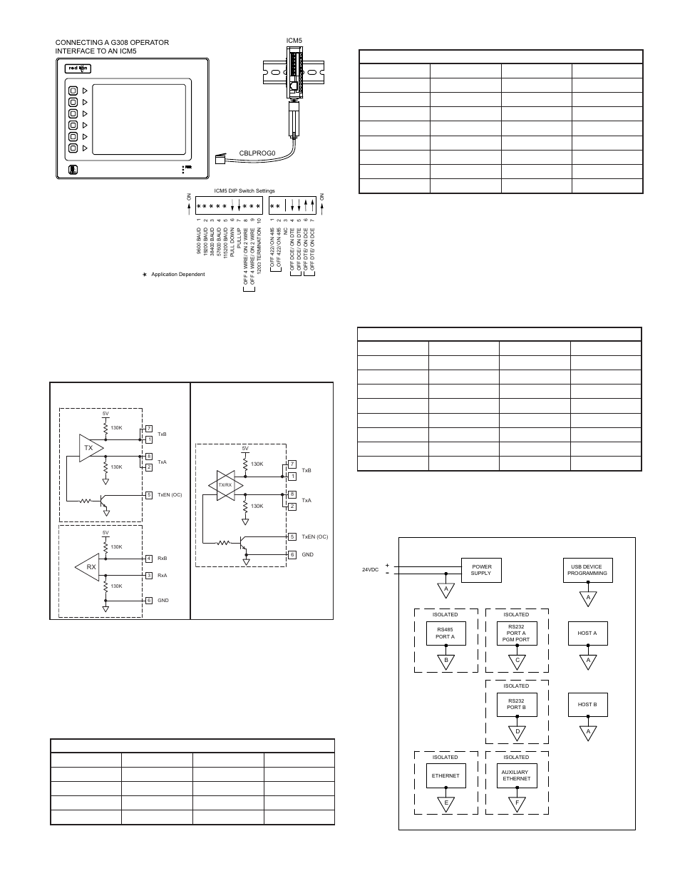 Examples Of Rs485 2 Wire Connections Dh485 Communications G3 To Rs 485 2wire Diagram Modular Controller