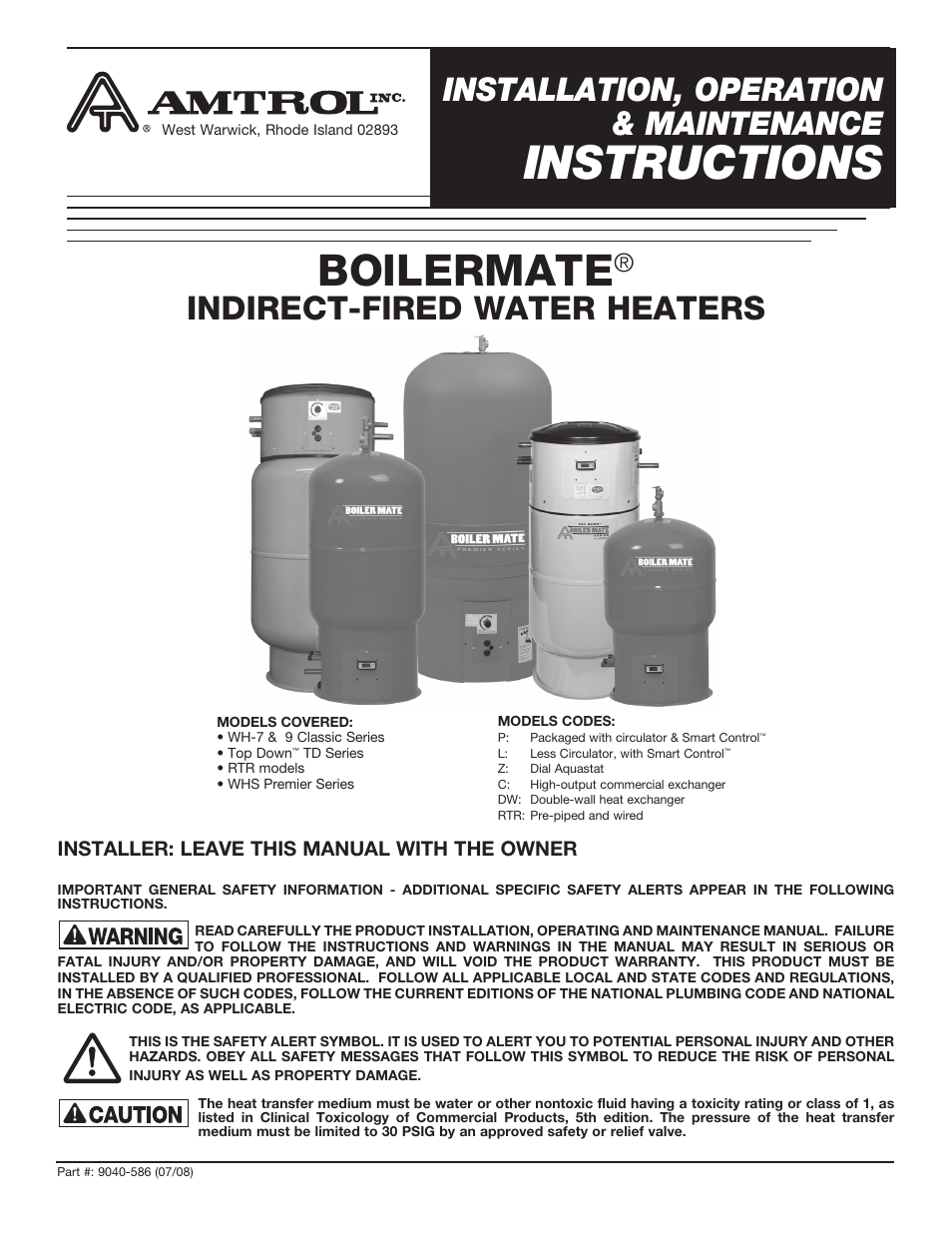 amtrol boilermate top down page1 amtrol boilermate top down user manual 32 pages also for wh 9  at mifinder.co