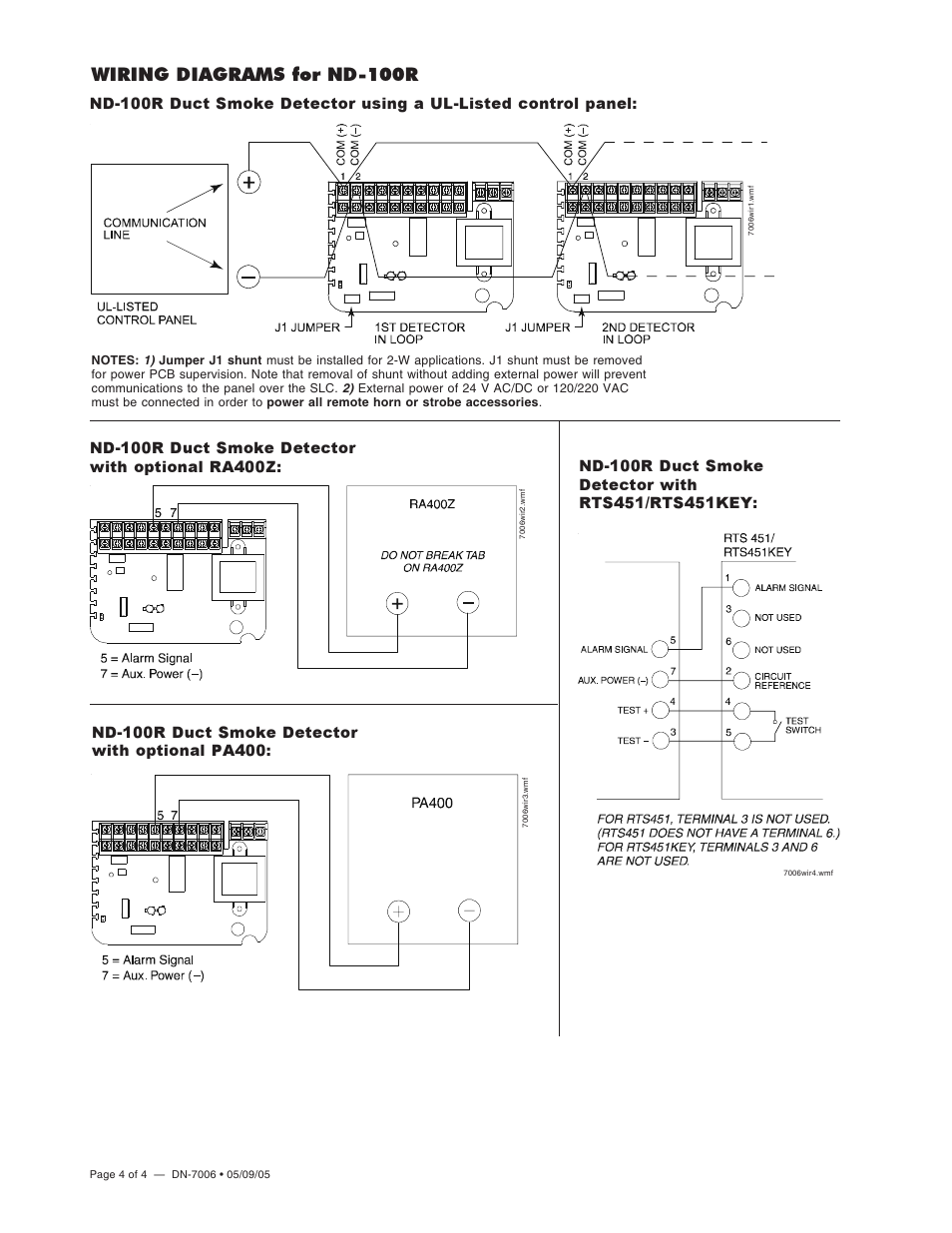 Wiring Diagrams For Nd  4
