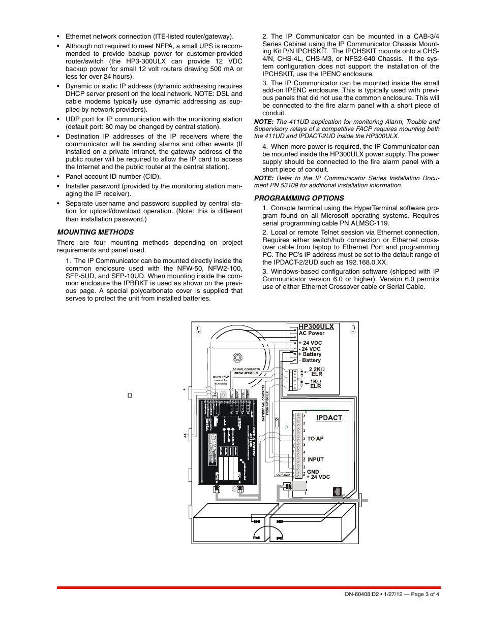 Notifier IPDACT-2/2UD User Manual | Page 3 / 4 | Original mode