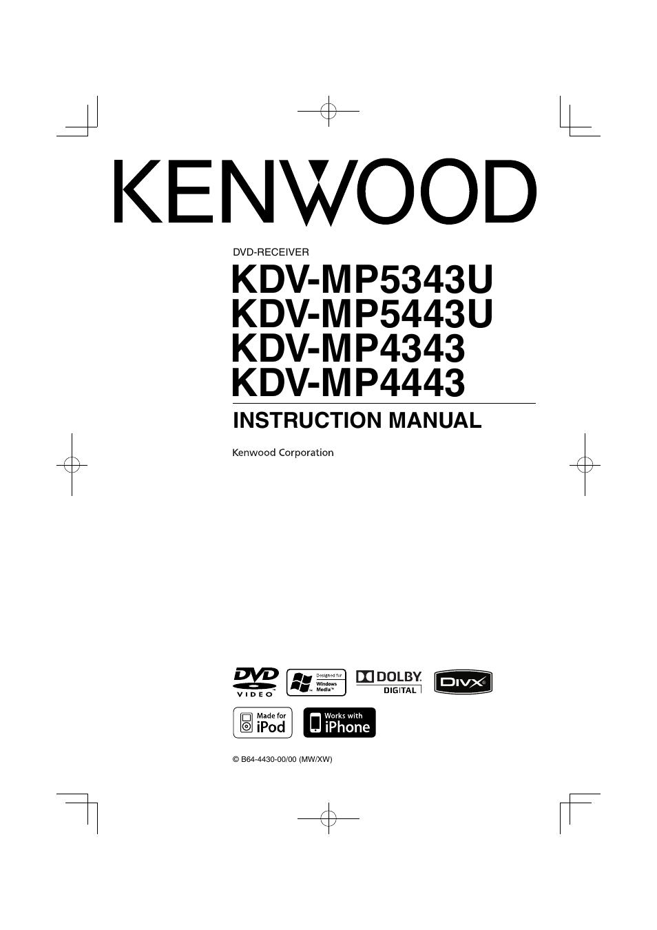 kenwood multi pro instruction manual
