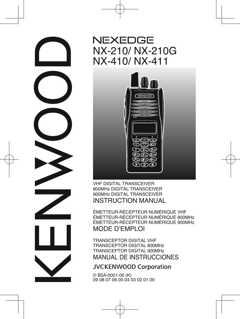 kenwood nx 210g user manual 48 pages rh manualsdir com Kenwood Radios Kenwood Portable Two-Way Radios