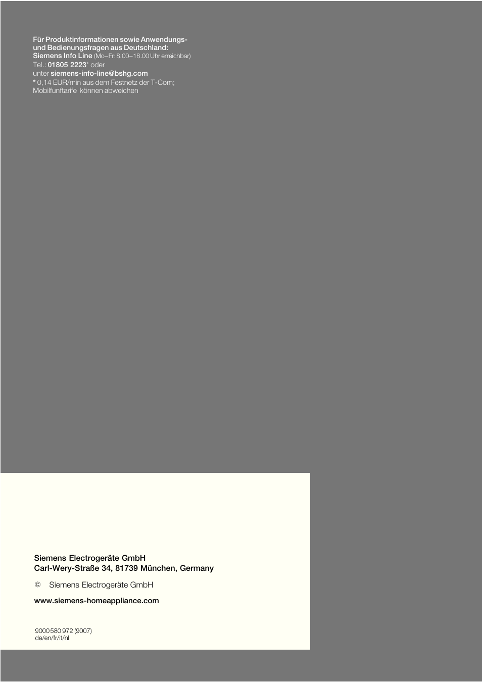 siemens ka62dp91 user manual page 115 115 also for ka62da71 ka62ds51 ka63da71. Black Bedroom Furniture Sets. Home Design Ideas