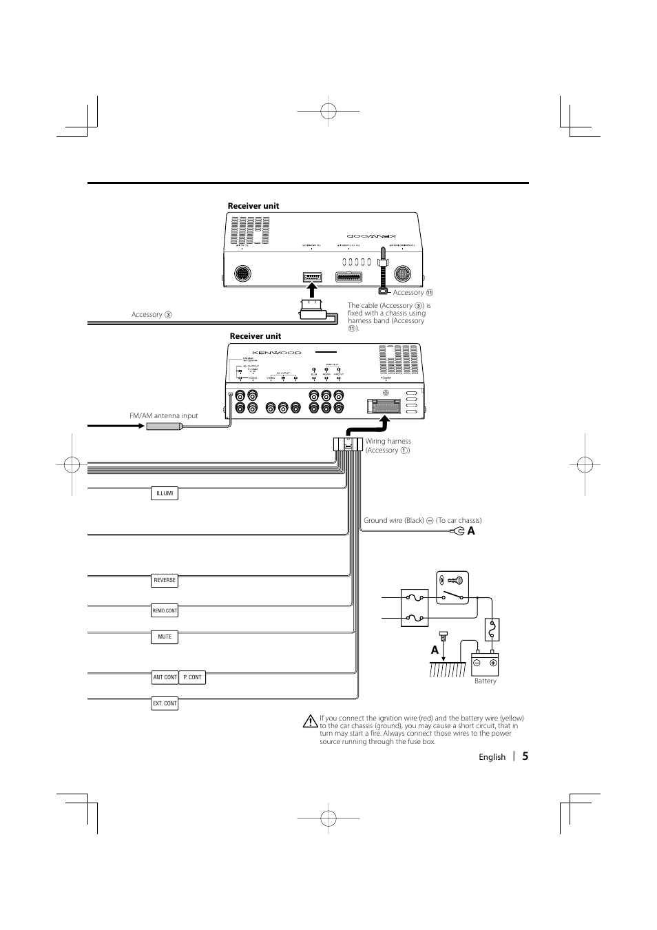 Kenwood Kvt 729dvd Wiring Diagram 719dvd 747dvd Service Manual Wiringdiagram