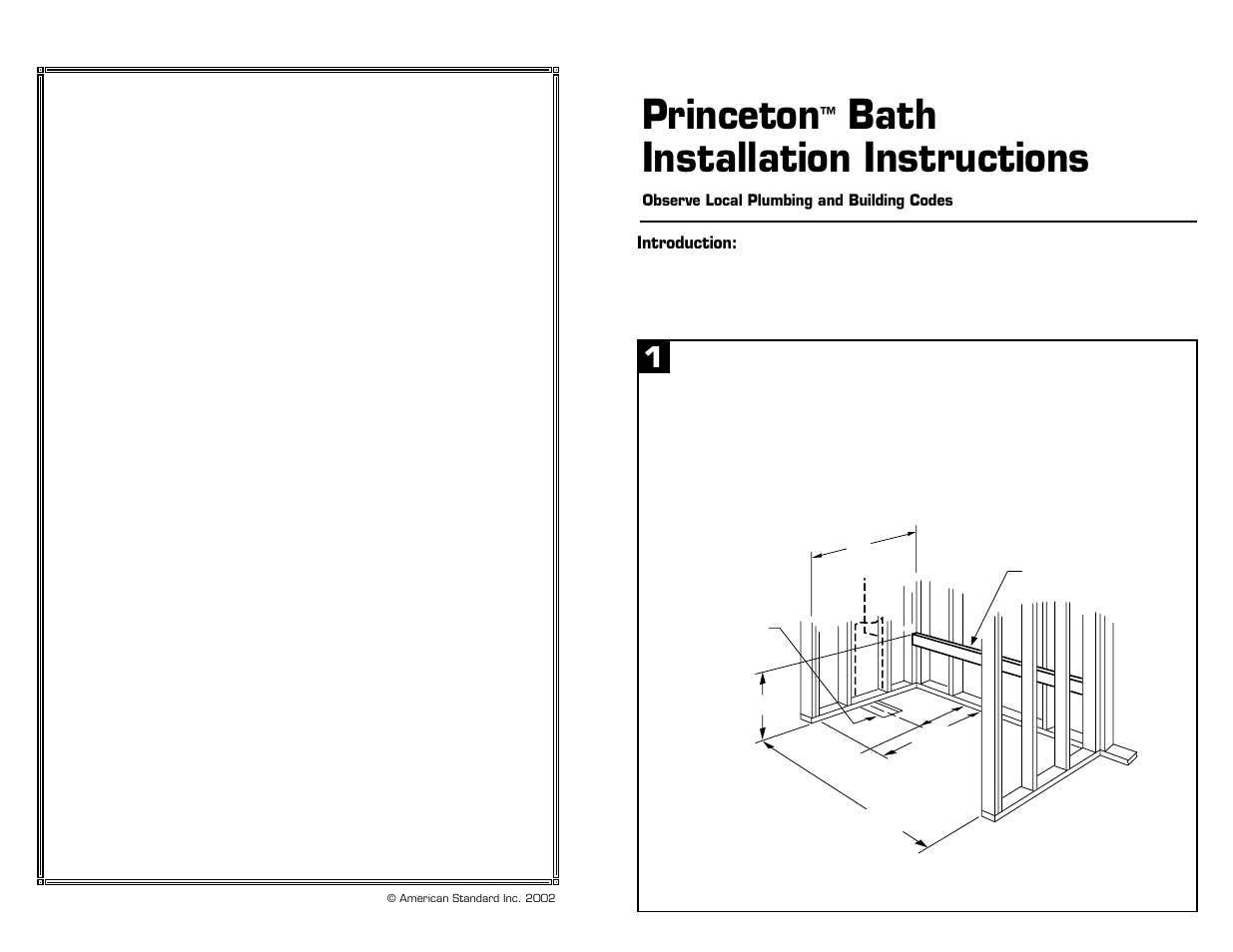 American Standard 2391.202 User Manual | 4 pages