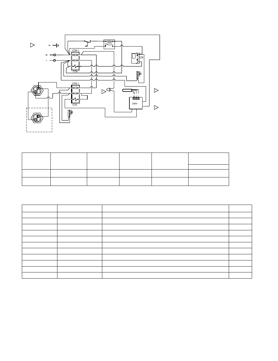 coates-st-series-55-11kw-240v-single-phase-page4  Pole Amp Contactor Wiring Diagram on rv inverter, welder outlet, rv pedestal, welding receptacle, rv generator, rv service box, rv extension cord, round rv power plug, rv power, gfci breaker, locking receptacle rv, 240 volt plug, trailer receptacle,
