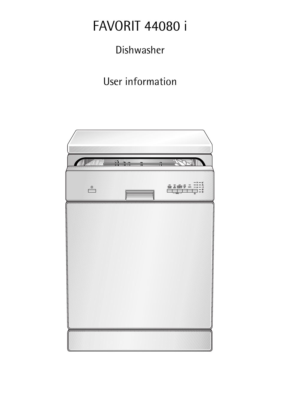 Aeg Favorit 44080 I User Manual 48 Pages