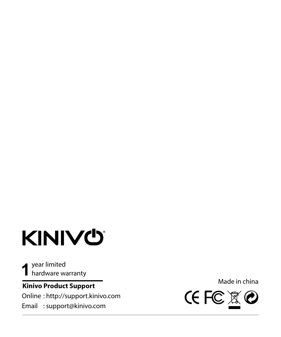 Kinivo bth220 manuals.