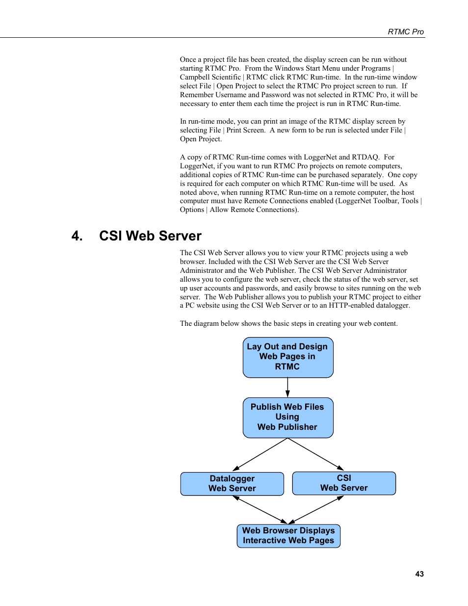 Csi web server | Campbell Scientific RTMC Pro Real-Time Monitor and