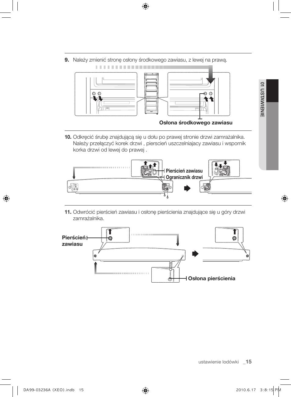 Samsung RL39THCMG User Manual   Page 43 / 228