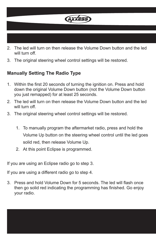 Axxess Interface User Manual Sample Wiring Diagram Rfaswc Page 10 12 Original Mode Rh Manualsdir Com Metra