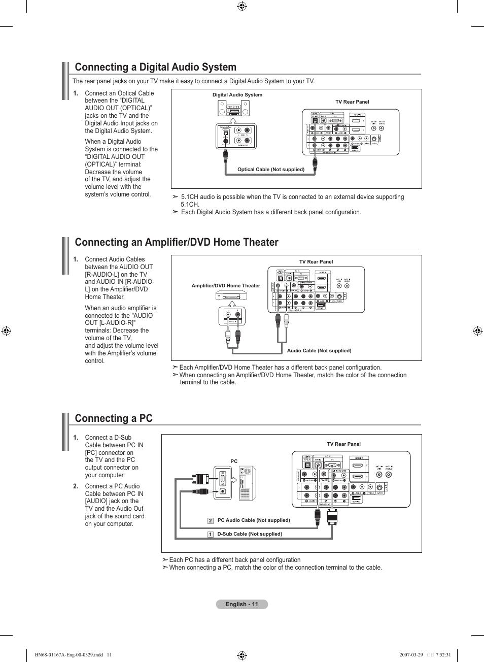 samsung fernseher optical audio digital