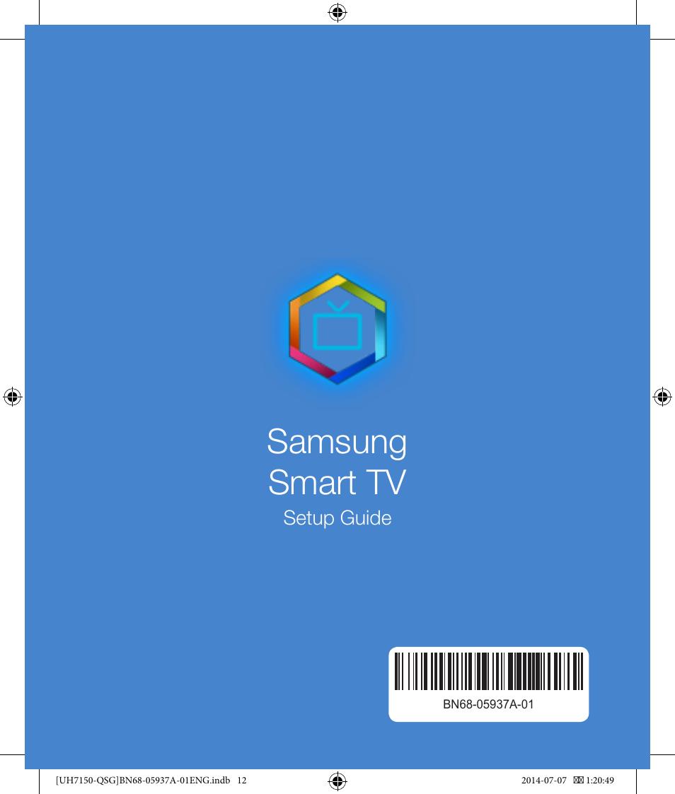 Samsung Smart Tv Samsung Un55h7150afxza User Manual Page 12 12