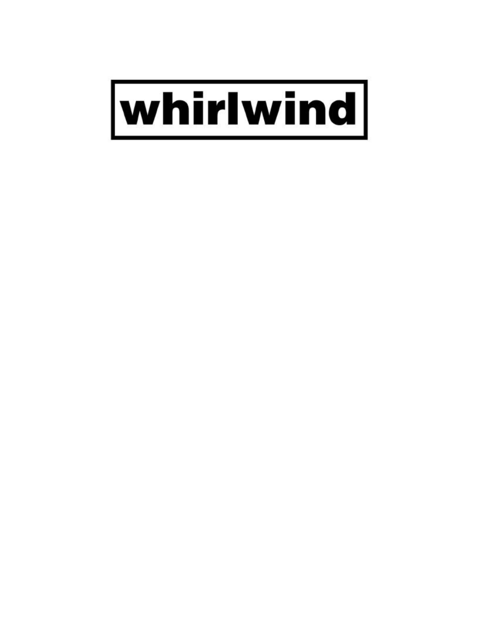 Whirlwind SP1X3LUNT User Manual | 2 pages