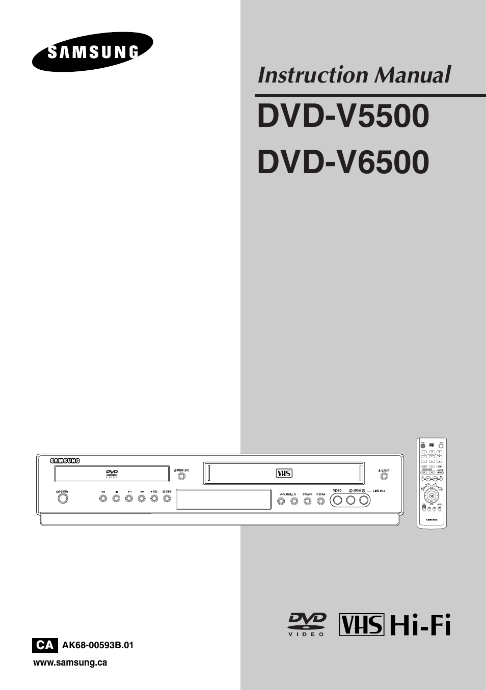 samsung dvd v5500 xaa user manual 86 pages also for dvd v5500 rh manualsdir com samsung dvd vcr combo v5500 manual samsung tv 5500 manual