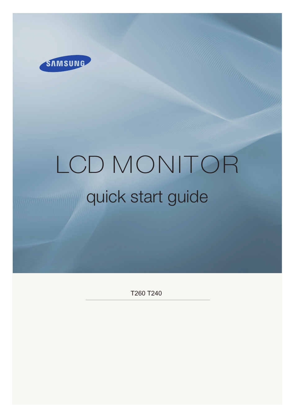samsung ls26twhsuv za user manual 19 pages also for ls24twhsuv za rh manualsdir com Manual Samsung UN32EH4000F Manual Samsung UN32EH4000F