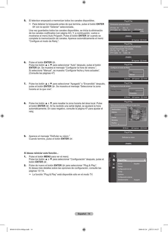 Samsung LN46A650A1FXZA User Manual   Page 130 / 222