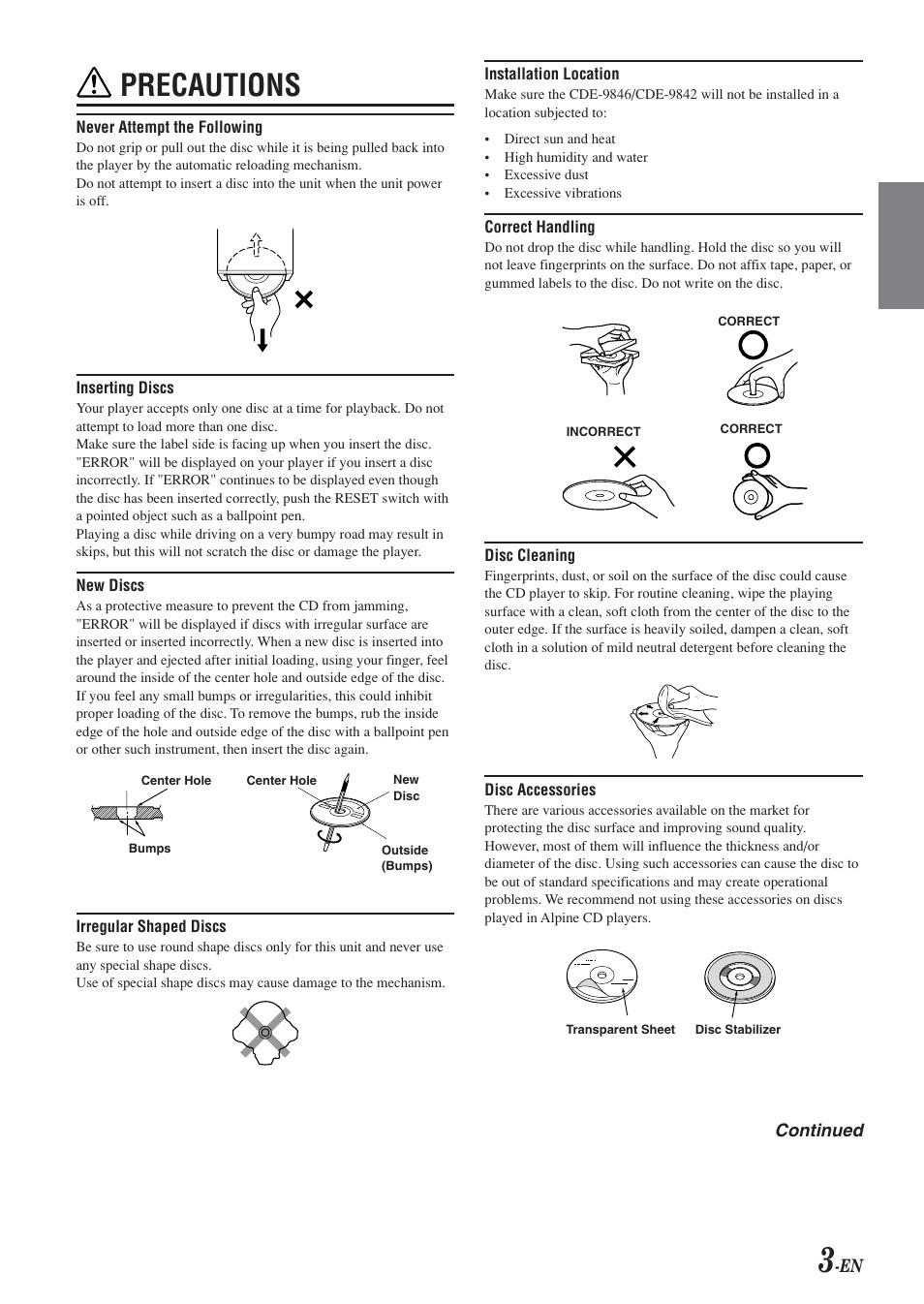 alpine cde 9842 manual open source user manual u2022 rh dramatic varieties com Alpine CDE 123 Bluetooth Setup Alpine CDE 136Bt