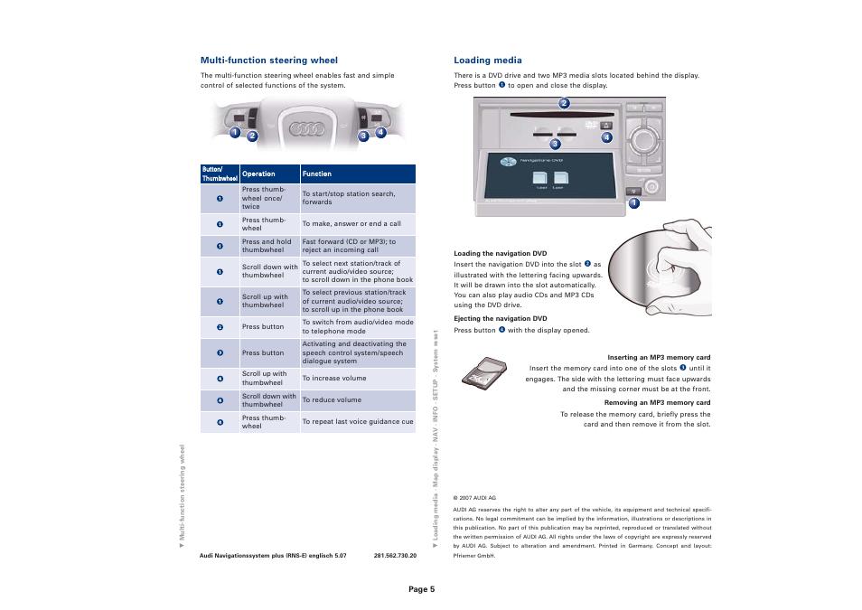 2011 audi q7 with mmi navigation plus manual owners manual