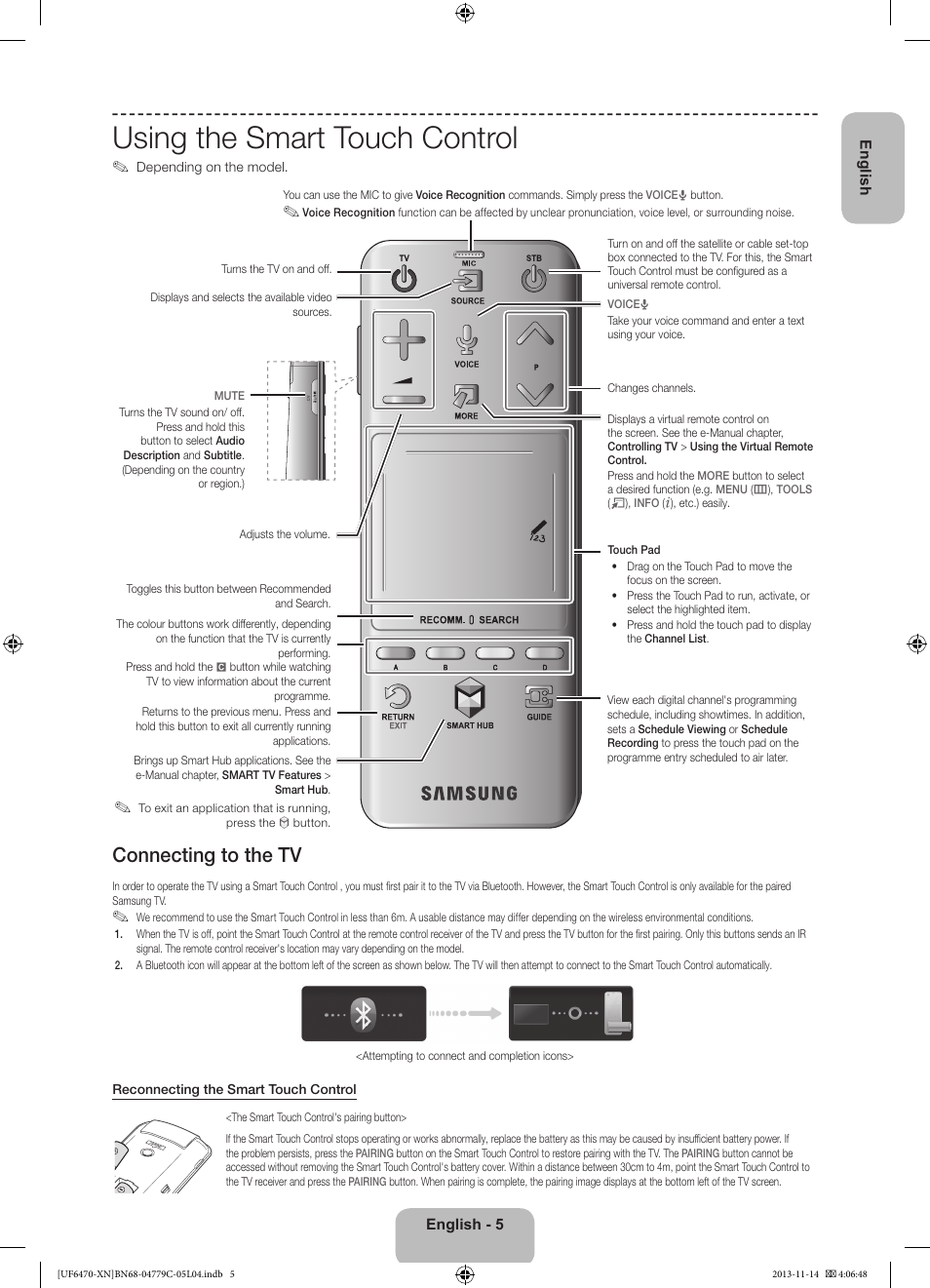 Samsung Smart Tv Ua65h6400 User Manual