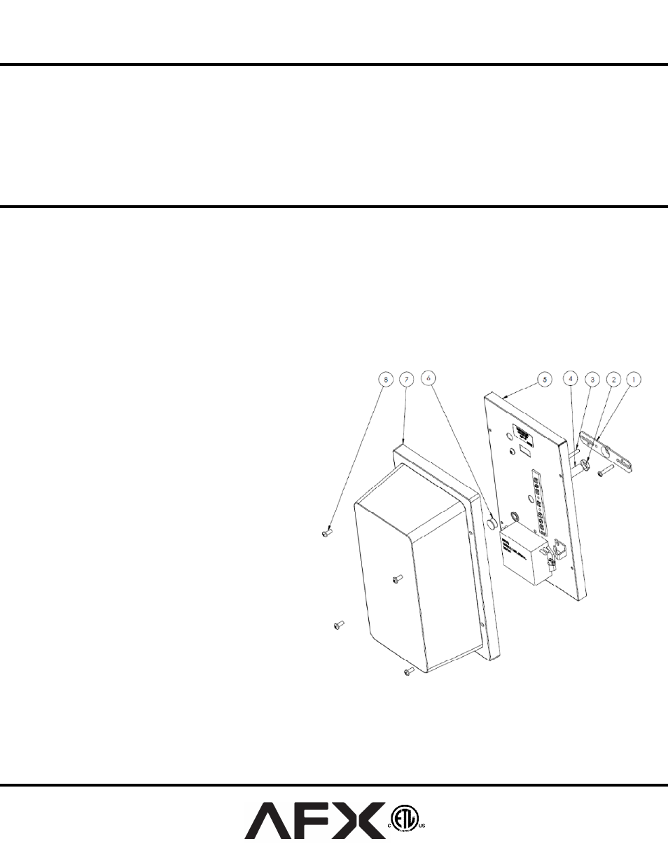 Afx tpuw70050lwh user manual 1 page publicscrutiny