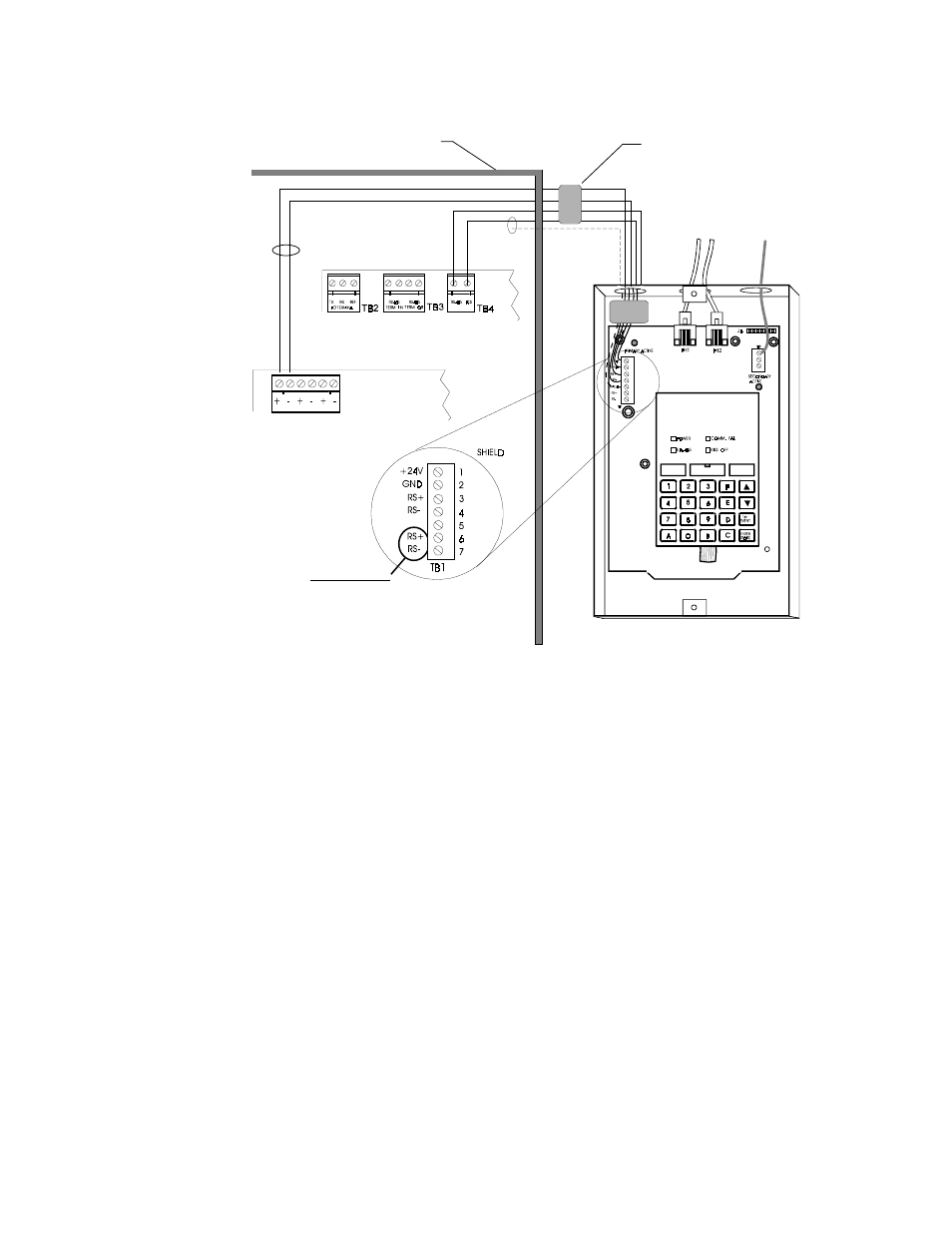 Adt Security Services Udact User Manual Page 60 68 Wiring Diagram
