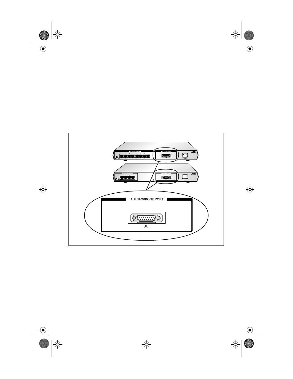 Jabber lock-up protection, Backbone network port, Figure 3