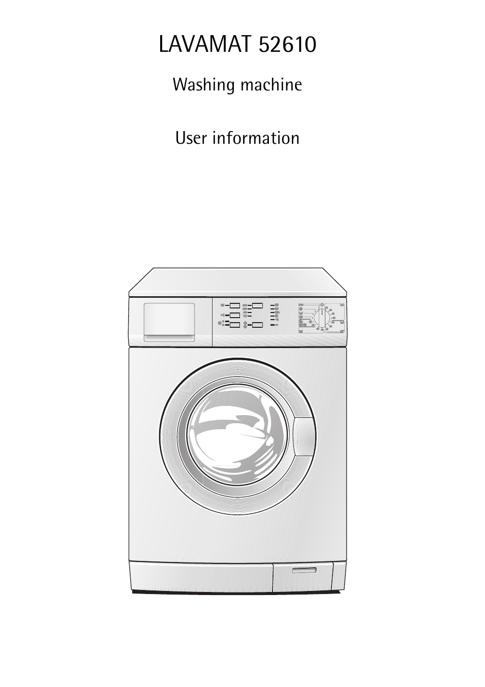 aeg lavamat 52610 user manual 40 pages. Black Bedroom Furniture Sets. Home Design Ideas