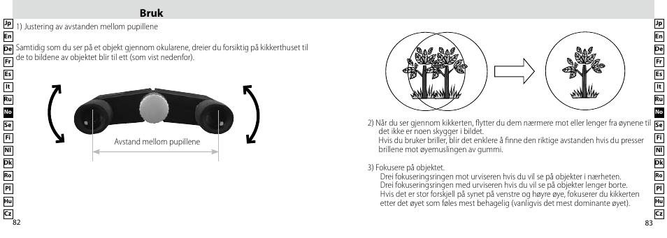 Bruk | Nikon Compact-Sport-Sprint User Manual | Page 42 / 83