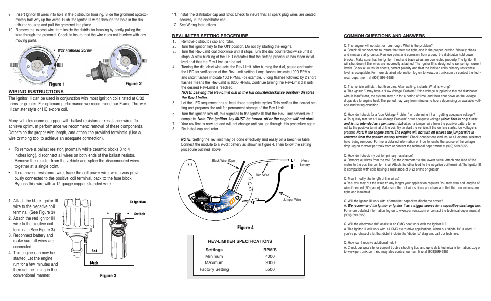 Pertronix Ignitor Iii 71281 User Manual