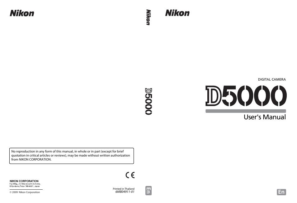 nikon d5000 user manual 256 pages rh manualsdir com nikon d5000 owners manual download nikon d500 owners manual