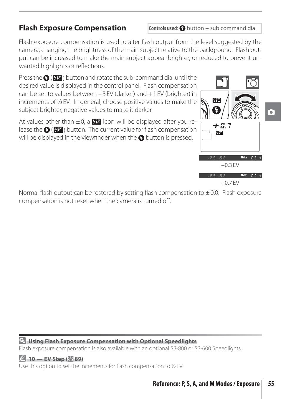 flash exposure compensation nikon d80 user manual page 67 162 rh manualsdir com canon d80 user manual neato d80 user manual