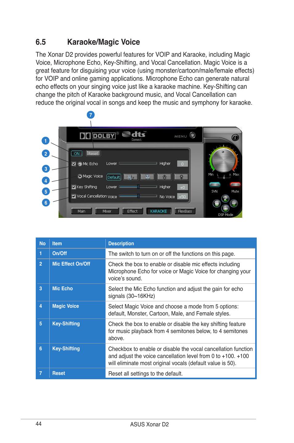 5 karaoke magic voice asus audio card xonar d2 user manual page rh manualsdir com Manual System Restore Manual System Restore