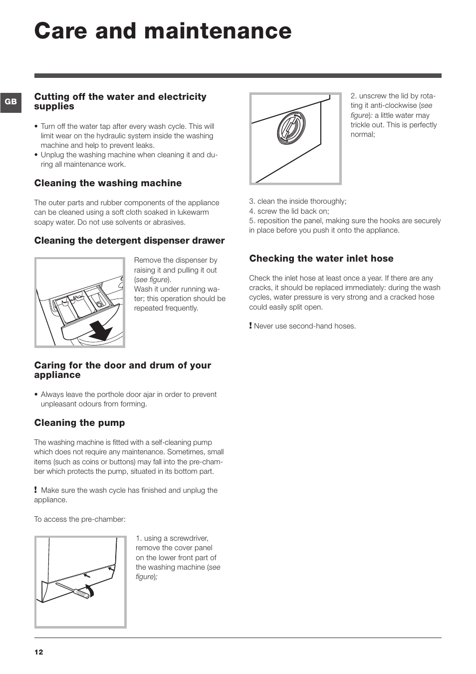 Indesit wdg1095w instruction manual.