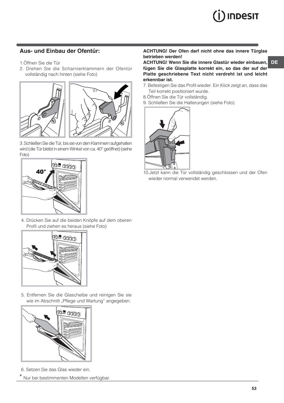 High Quality Indesit I5V7H6A(X) EU User Manual | Page 53 / 76