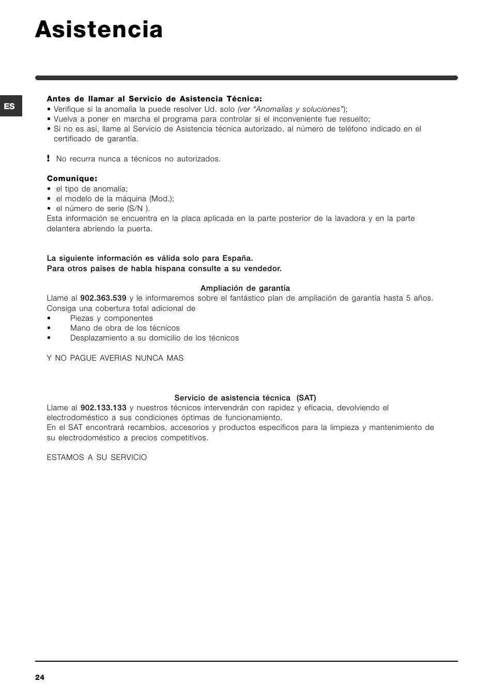 asistencia indesit iwc 6105 eu user manual page 24 36 rh manualsdir com