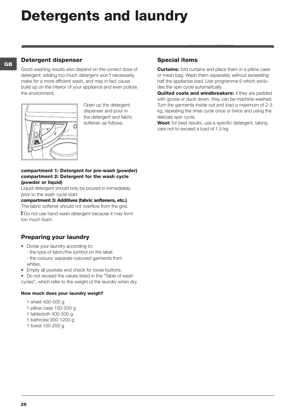 Indesit washing machine symbols image collections symbol and detergents and laundry indesit iwde 127 eu user manual page 26 detergents and laundry indesit iwde fandeluxe Choice Image