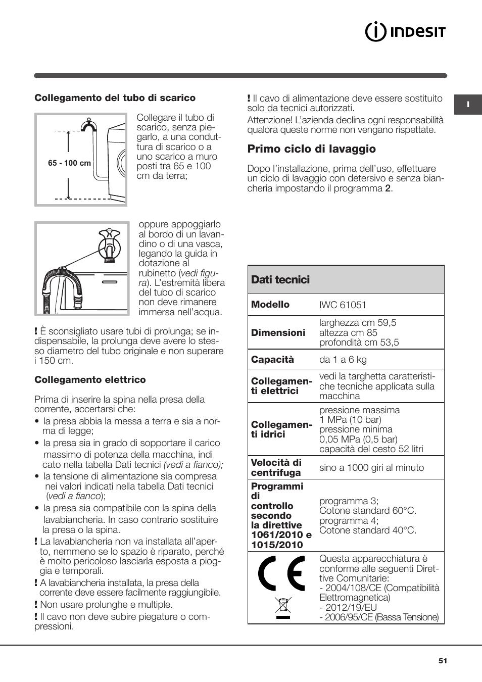 indesit iwc 61051 eu user manual page 51 72 original mode rh manualsdir com indesit iwc 61051 eco manual indesit iwc 61051 eco manual