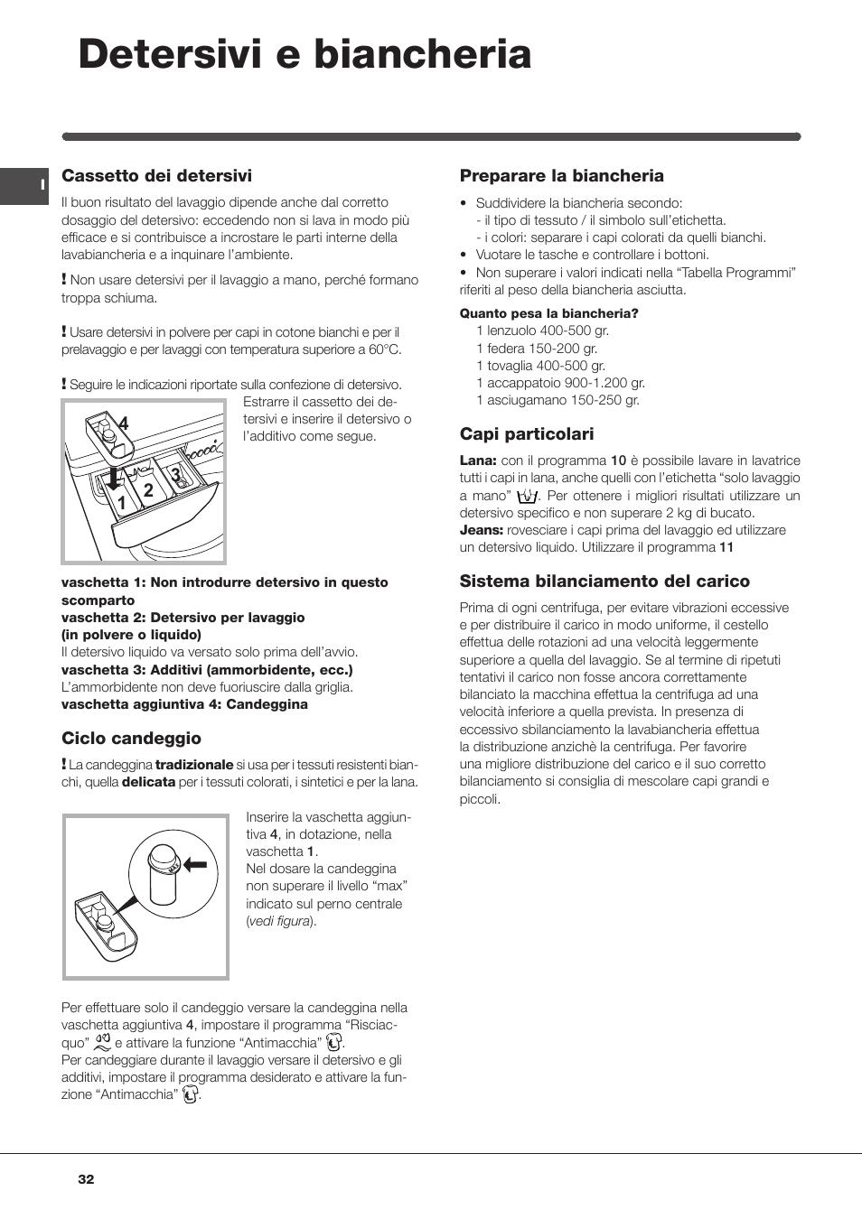 detersivi e biancheria   indesit iwc-81051-c-eco(eu) user manual