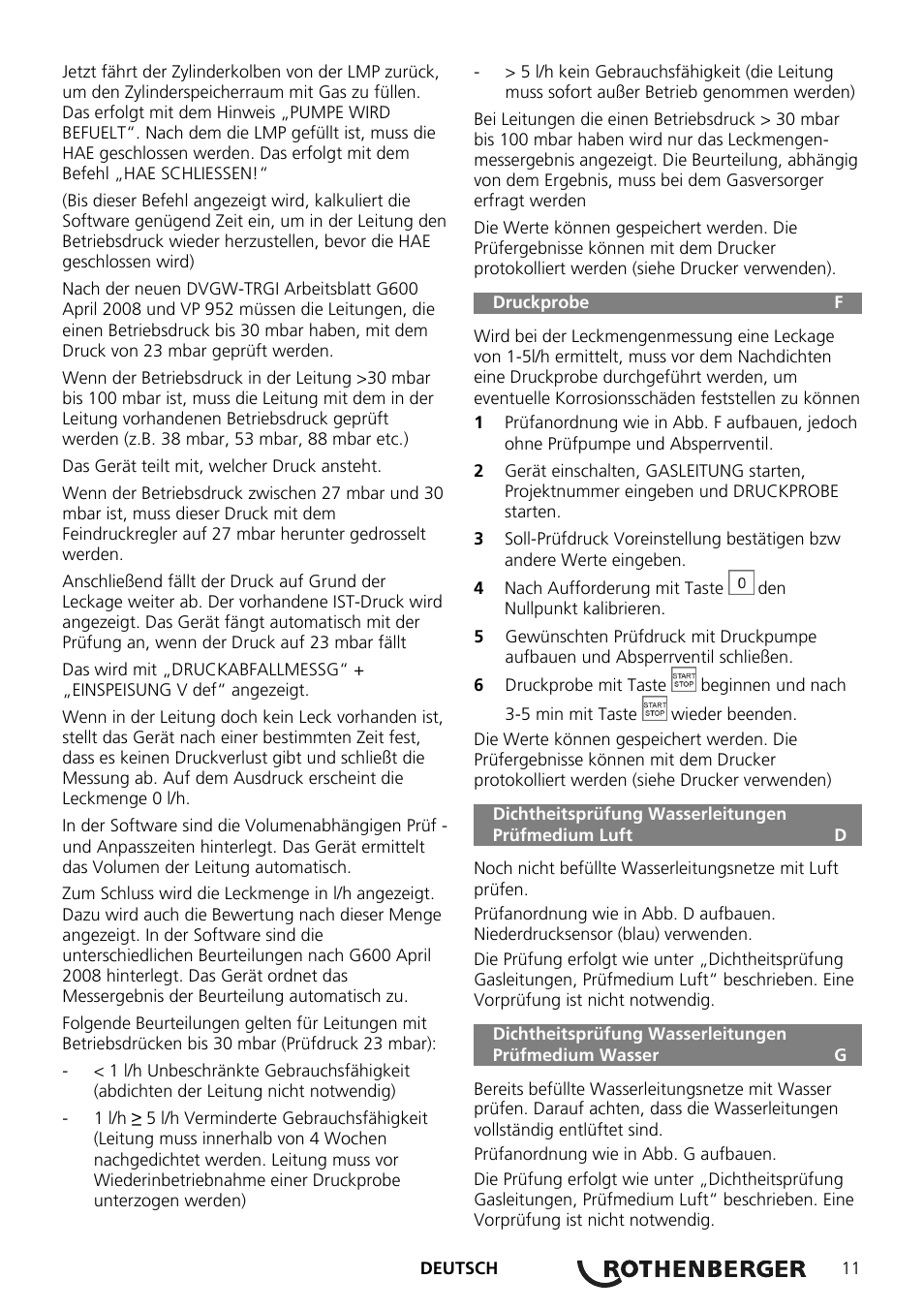 rothenberger rotest gw digital v2 3 usb user manual page 11 44. Black Bedroom Furniture Sets. Home Design Ideas