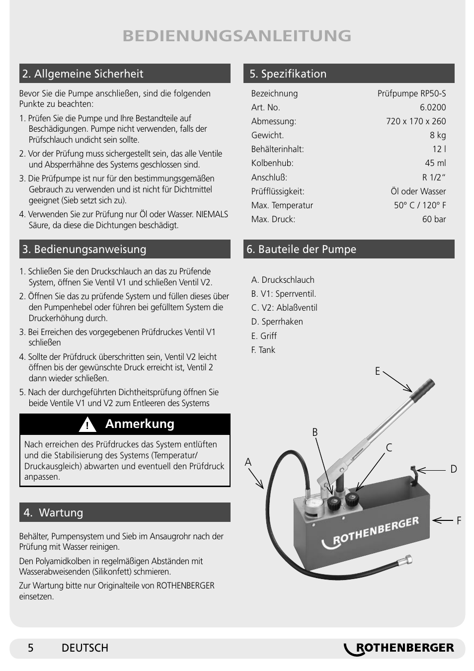 bedienungsanleitung anmerkung rothenberger rp 50 s rp 50 s inox rh manualsdir com user manual smart watch kite bluetooth user manual smart bracelet i5 plus