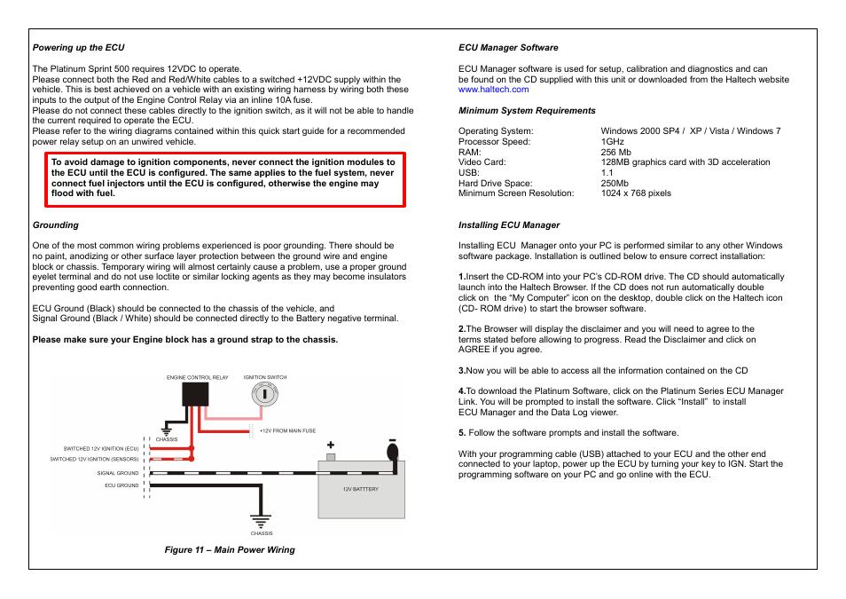haltech platinum sprint 500 ht050700 user manual page 11 20 haltech platinum sprint 500 ht050700 user manual page 11 20 also for ht050700