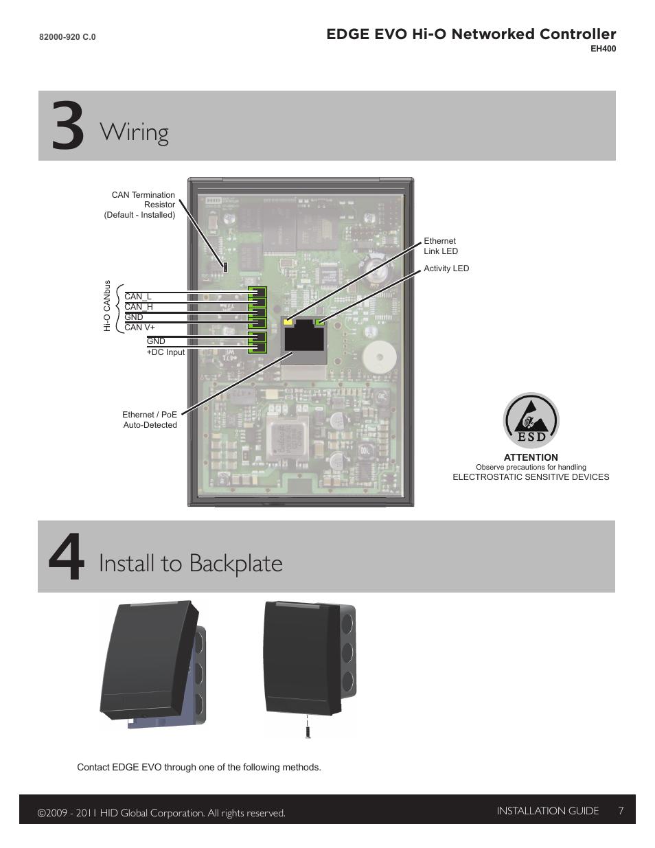 Hid Edge Eh400 Wiring Diagram - House Wiring Diagram Symbols •