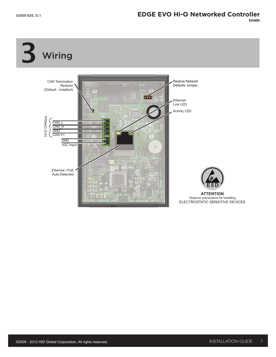 3 wiring wiring edge evo hi o networked controller hid edge 3 wiring wiring edge evo hi o networked controller hid edge evo solo esh400 hi o controller installation guide user manual page 7 12 cheapraybanclubmaster Images